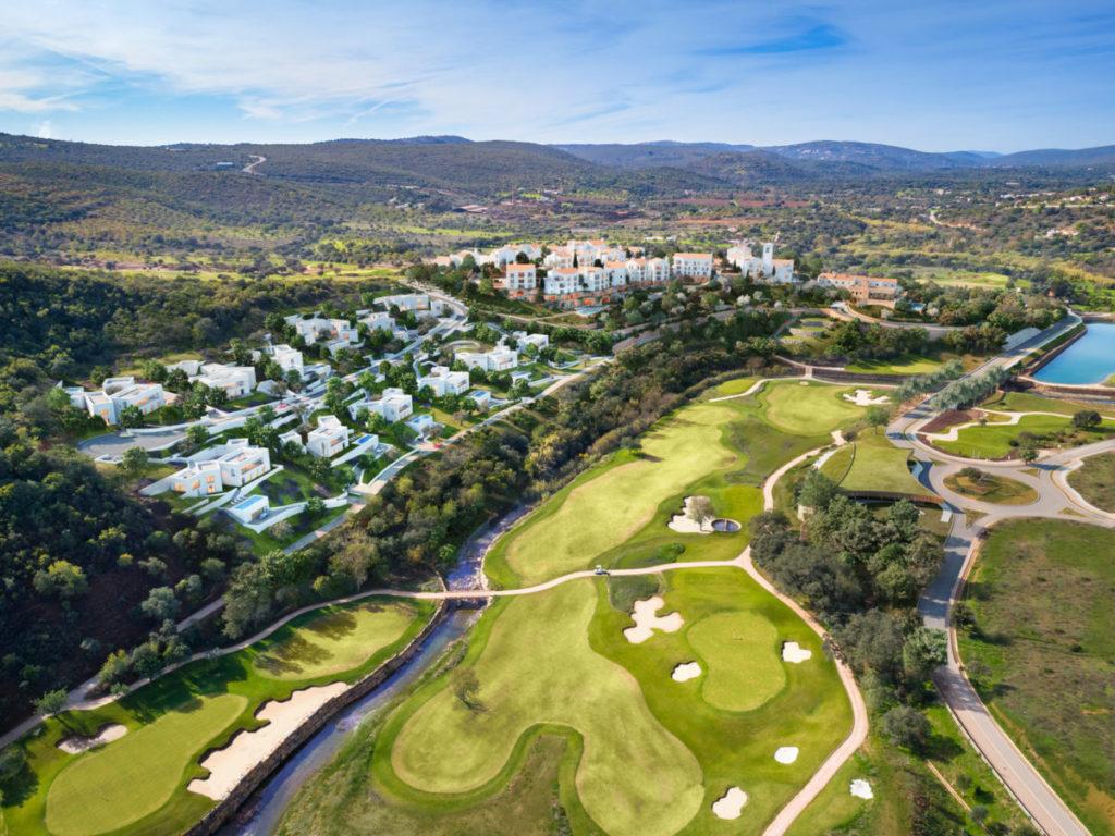 Programme immobilier de luxe sur golf en Algarve